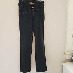 Denim - Push up/black jean